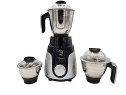 Stainless Steel Black And Silver KGA Unicorn Mixi, For Wet & Dry Grinding, 650 W
