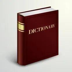 Dictionaries Books Printing Service