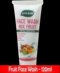 Alpen Glow Herbal Fruit Face Wash, Pack Size: 120 Ml & 60ml