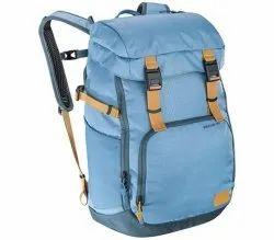 Nylon Sky Blue Luggage Bag