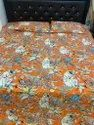 Monkey Printed Reversible Bed Comforter With Two Pillow