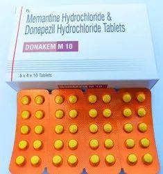 Memantine Hydrochloride & Donepezil Hcl Tablets