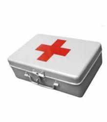 Shanti Aluminium First Aid Kit Box