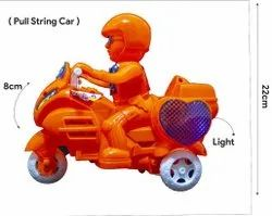 Plastic Motorcycle Toy, Packaging Type: Box