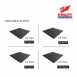 Ultra Heavy Duty Gym Floor Mat Interlocking Type & No Pasting