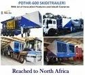 High Quality Trailer Skid Mounted Water Well Drilling Machine