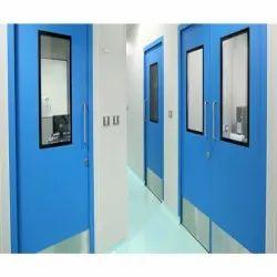 Radiant Passive Mild Steel & Glass Clean Room Doors