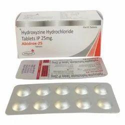 25 Mg Hydroxyzine Hydrochloride Tablet