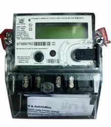 RS232 5-30A Schneider Watt Hour Meter, Model Name/Number: EM101+, 240V