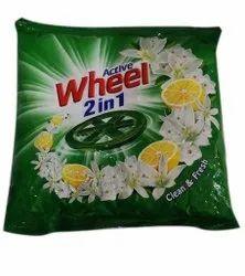Jasmine,Lemon Wheel Active 2 in 1 Detergent Powder, For Laundry