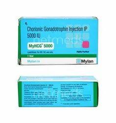 Menotropin HCG 5000 IU