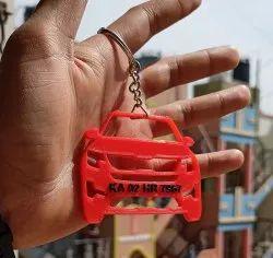 Customized Car Keychain