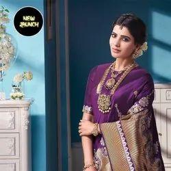 Present Designer Lichi Silk Saree