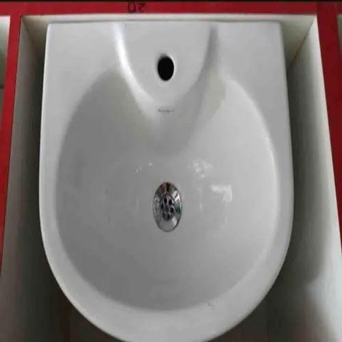 Ceramic Wall Mounted Bathroom Wash Basin Rs 2200 Piece National Trading Co Id 23170722230