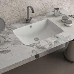 Eros Ceramic Fancy Countertop Wash Basin, 510*370*180 Mm