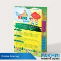 1-5 Days Paper Folder Design And Printing Service, In Local, Dimension / Size: A4 Size
