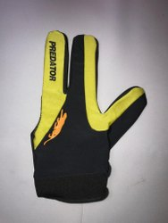 Stretchable Fabric Predator Billiards Gloves
