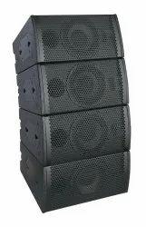 2.1 Black Benson Acoustics 8 Inch Two Way Full Range Coaxial Speaker, 2000 Watt