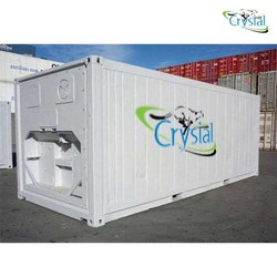 Crystal PUF Insulated 20 Feet Refurbished Container