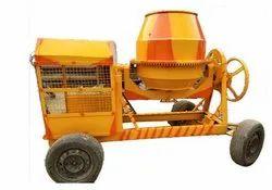Diesel Semi-Automatic Waani Concrete Mixer Machine