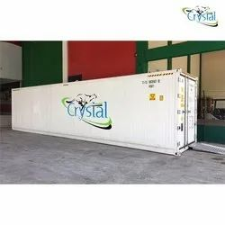Crystal Used Reefer Container On Rent