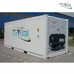 Crystal Brand New Reefer Container Rental Service