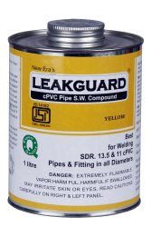 1 L LeakGuard CPVC Pipe Solvent Welding Compound
