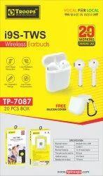 TP Troops I9s-Tws Wireless Earphone 7087  (Box-17)  Earphone