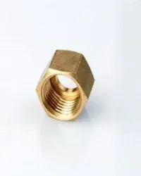 Hexagonal Brass Hose Nut