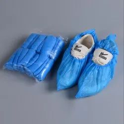 Ldpe Poly Short Shoe Cover