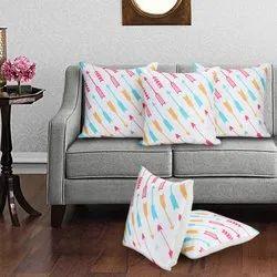 Jute Printed Cushion Covers