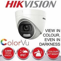 digital 1920 x 1080 2 MP Night Vision Hikvision Bullet CCTV Camera, Camera Range: 10 to 20 m