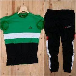 Adidas Cotton/Linen T Shirt +  Track Combo