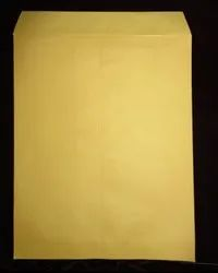 wrap-up Yellow Office Envelope, Rectangle, Size: 12x10 Inches
