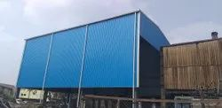 Mild Steel Boiler Prefabricated Structure, For Factory