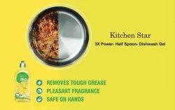 INDIANLIFE Kitchen Star Dish Wash Liquid, (f), 300