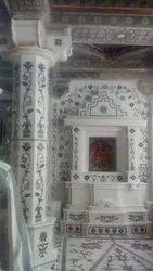 500 Sqft Inlay Work Pillar Wall, In Pan India