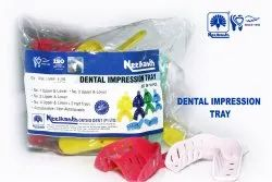 DISPOSABLE DENTAL IMPRESSION TRAYS