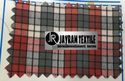 Assam school uniform checks fabric