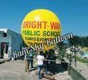 School Advertising Sky Balloon