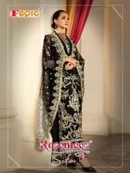 Rosemeen Sifa By Fepic Georgette Net Pakistani Good Looking Suits