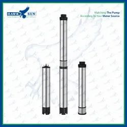 4 1HP AC CI Solar Submersible Pump Set