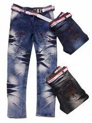 Regular Fit Casual Wear Men Denim Stretchable Jeans