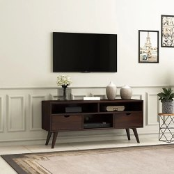 Rectangular Wooden TV Table