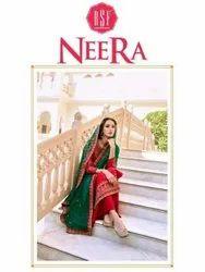RSF Neera Silk With Work Designer Salwar Suit Catalog