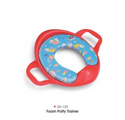 Plastic Pink,Red Foam Potty Trainer, Age Group: 3-12 Months