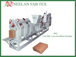 5kg Coco Peat Block Making Machine