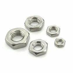 Mild Steel  Hexagon Thin Nuts