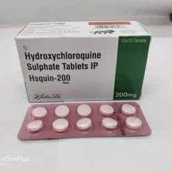 Hydroxychloroquine Sulphate Tablets IP 200 mg