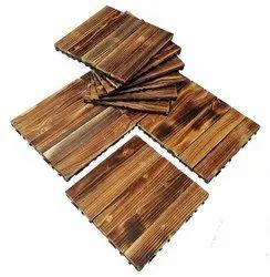 Laminated Designer Wooden Flooring, Thickness: 8 Mm